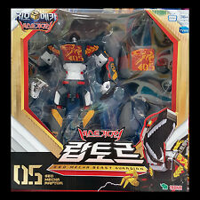 Geo Mecha Beast Guardian 05 RAPTOR Dinosaurs Transformer Robot Young Toys 2017