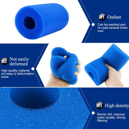 Reusable Swimming Pool Filter Pump Cartridge1 Sponge Foam for Intex Type A
