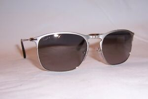 3e46f86eeb9 Image is loading NEW-Persol-Sunglasses-PO-7359-S-SILVER-GREEN-
