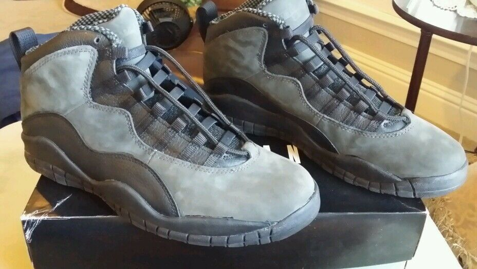 Nike air jordan jordan jordan 10,5 og 1994 1995 dunkle schatten ce1922