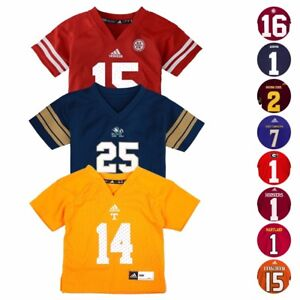 NCAA-Official-Football-Jersey-Collection-by-Adidas-amp-Gen-2-Infant-SZ-12M-24M