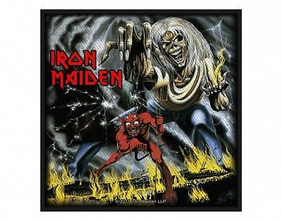 IRON MAIDEN number of the beast 2011 - WOVEN SEW ON PATCH (sealed)