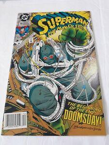 1992-Superman-18-Dc-el-Hombre-de-Acero-Moderno-Edad-Kiosco-Edicion