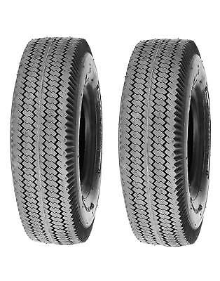 4-Ply Lawn and Garden Tire 4.10//3.50-5 Sawtooth Tubeless Deli Tire S-389