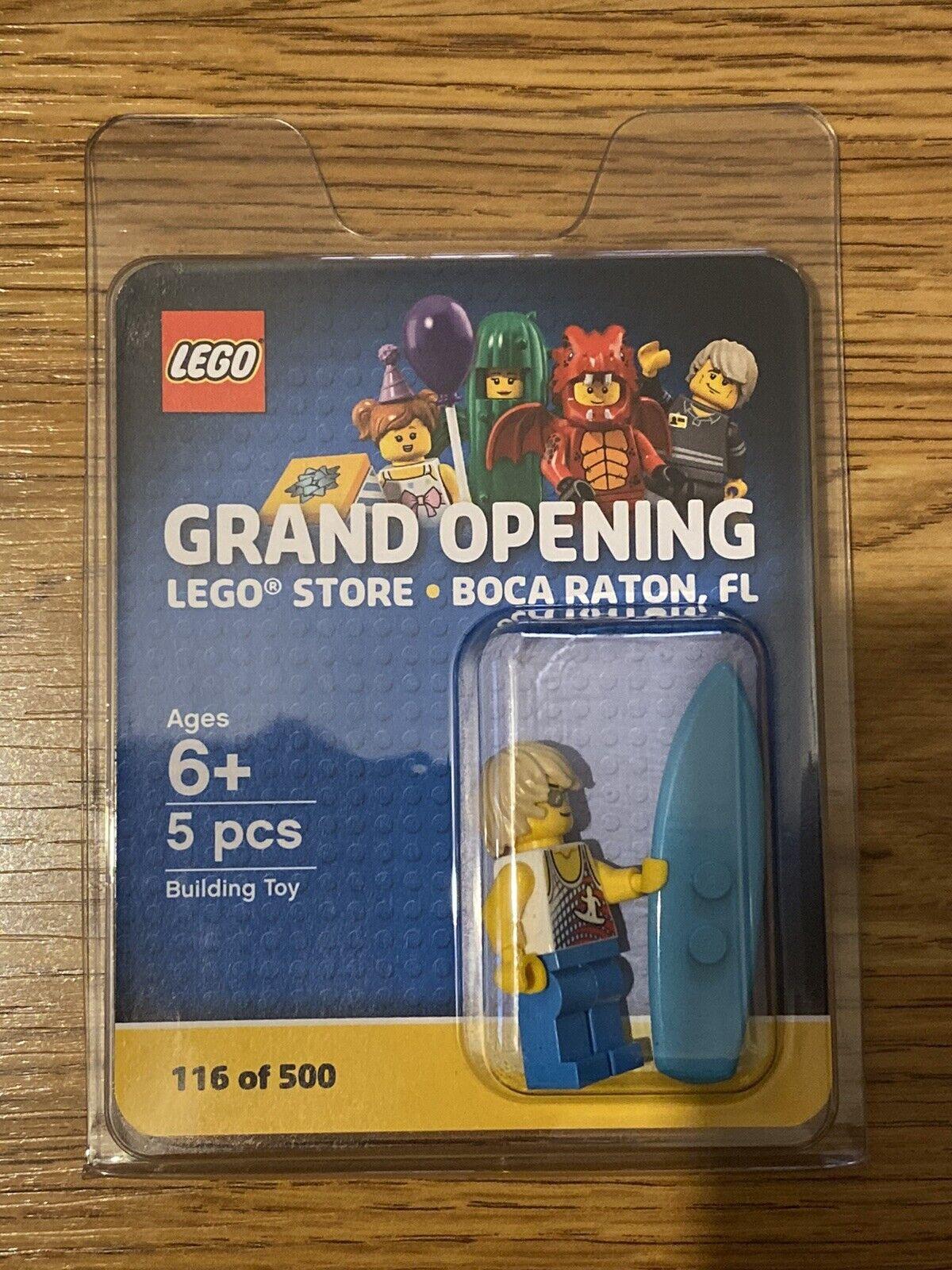 Lego tienda inauguración Minifigura Boca Raton FL 116 de 500-Nuevo