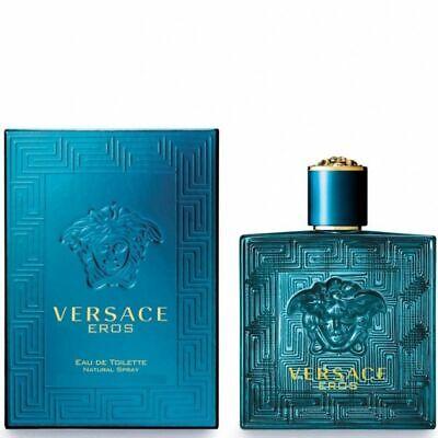 Details about  VERSACE EROS 200ml EDT Spray For Men