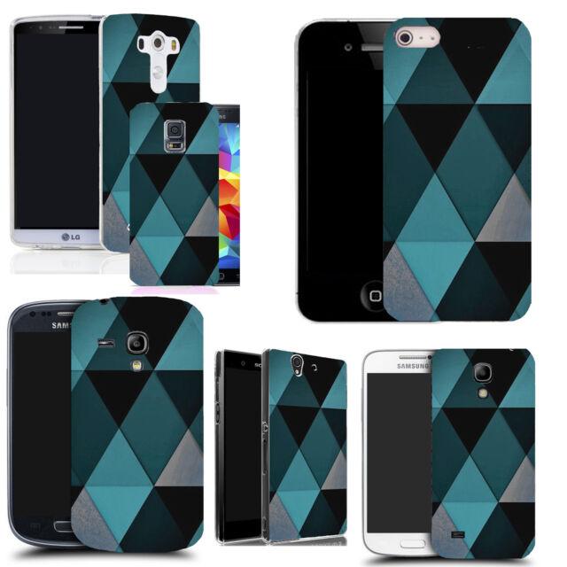BLUE DIAMOND DESIGN BACK CASE COVER FOR VARIOUS MOBILE PHONES
