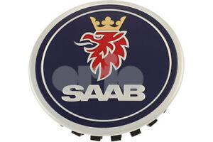 SAAB-95-9-5-650-10-11MY-ALLOY-WHEEL-CENTRE-CAP-BADGE-9597488-NEW-GENUINE-RARE
