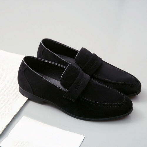 Clothing Shoes Accessories Dress Shoes Men Driving Loafers Suede Leather Shoes Casual Moccasins Slip On Flats Zsell Sraparish Org