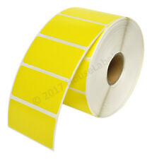 Zebra 2 X1 Color Direct Thermal Labels Yellow 1 Roll Of 1300 Gx420t Lp2824