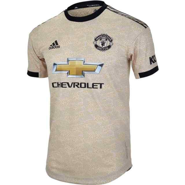 Adidas Men's Manchester United 2019-20 Authentic Away Jersey ED7389 Size XS | eBay