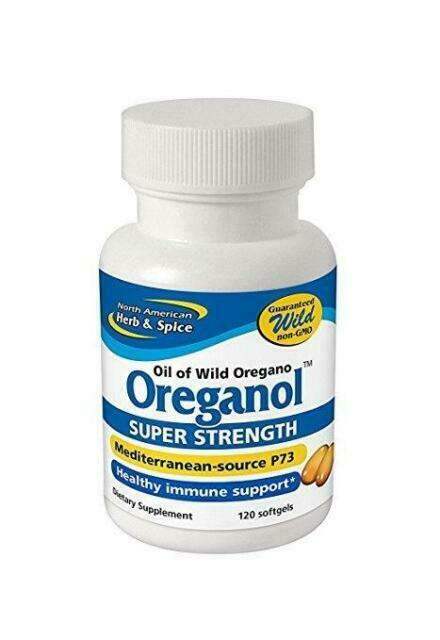 North American Herb Spice Oreganol P73 Super Strength Softgels 120 Count For Sale Online Ebay