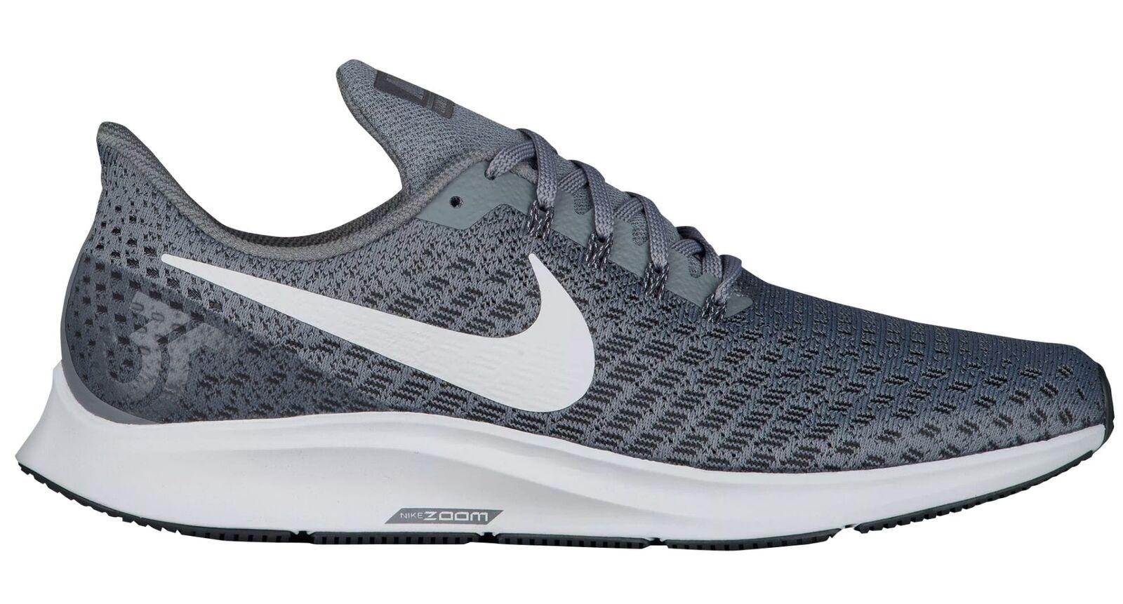 Nike air zoom pegasus 35 männer 942851-005 kühle graue mesh - schuhe der größe 12