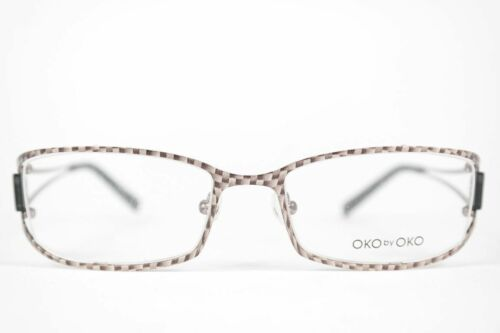 Oko by Oko Zd 9 Cb2 51 18 135 Black Oval Glasses Frames New