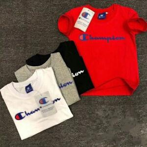 TOPS 2-14Y Kids/' Boys Girls Sports Short-sleeved T-shirt 4 Color coat