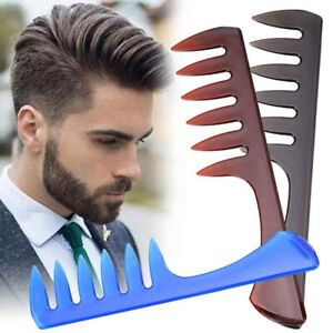 Men-Wide-Tooth-Comb-Salon-Barber-Hairdressing-Styling-Hair-Brush-Professional