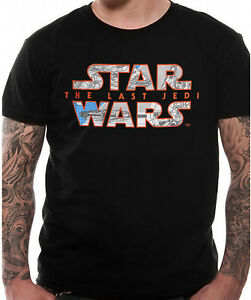 Programa-Oficial-De-Star-Wars-logotipo-Camiseta-el-ultimo-Jedi-Disney-Lucas-S-M-L-XL-2X