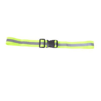 High Visibility Reflective Safety Belt Running Jogging Walking Biking Suppli Z!*