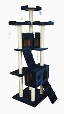 """72"""" Cat Tree Play House Tower Condo Furniture Scratch Post Perch"""