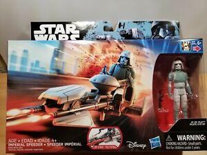 New Star Wars Rebels Imperial Speeder w AT-DP Pilot Action Figure Disney B7263