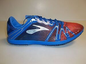 Brooks Size Mens 5.5 Womens 7 THE WIRE 3 Blue Track Sneakers New Unisex Shoes