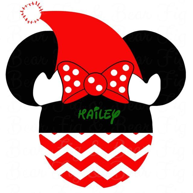 disney minnie mouse christmas shirt iron on transfer