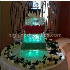 Image Is Loading Wedding Cake Stand Box Clear Acrylic 18 034