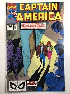 Captain-America-Vol-1-371-Comic-Book-1990-Marvel-Avengers-Diamondback