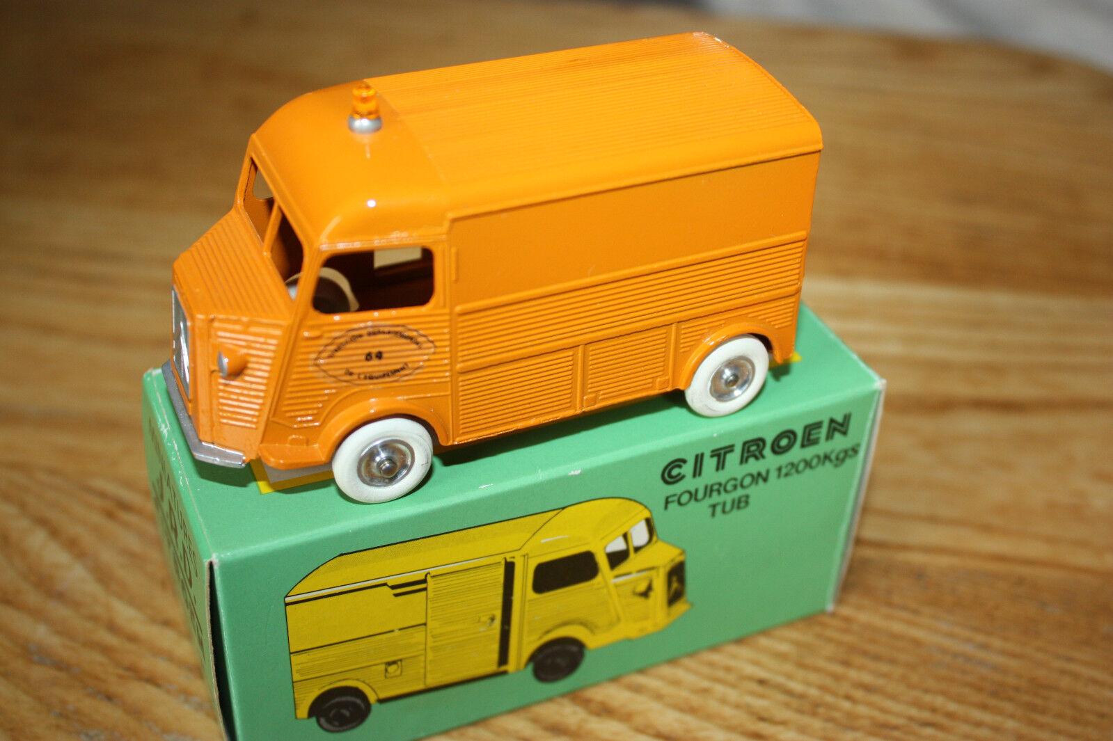 Miniatures JRD France 85 CITROEN 1200 Kg DDE DDE DDE 64 Orange Neuf Boite 1 43 87d70e