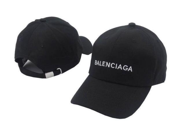 2019 Baseball Cap Balenciaga² Embroidery strapback adjustable hat vintage golf