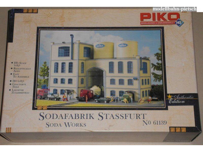 PIKO 61139 KIT Soda-fabbrica, nuovo in scatola originale
