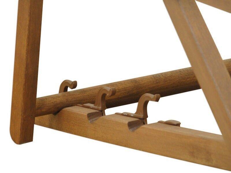 Chaise Longue Pistache Pistache Pistache Hêtre de Plage Toit Ouvrant Coussin Pliable 10-306 Skd fa2d33