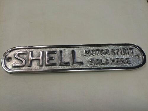 Shell Motor Spirit polished