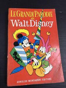 Classici-Disney-LE-GRANDI-PARODIE-DI-WALT-DISNEY-1-EDIZIONE-1959-Restaurato