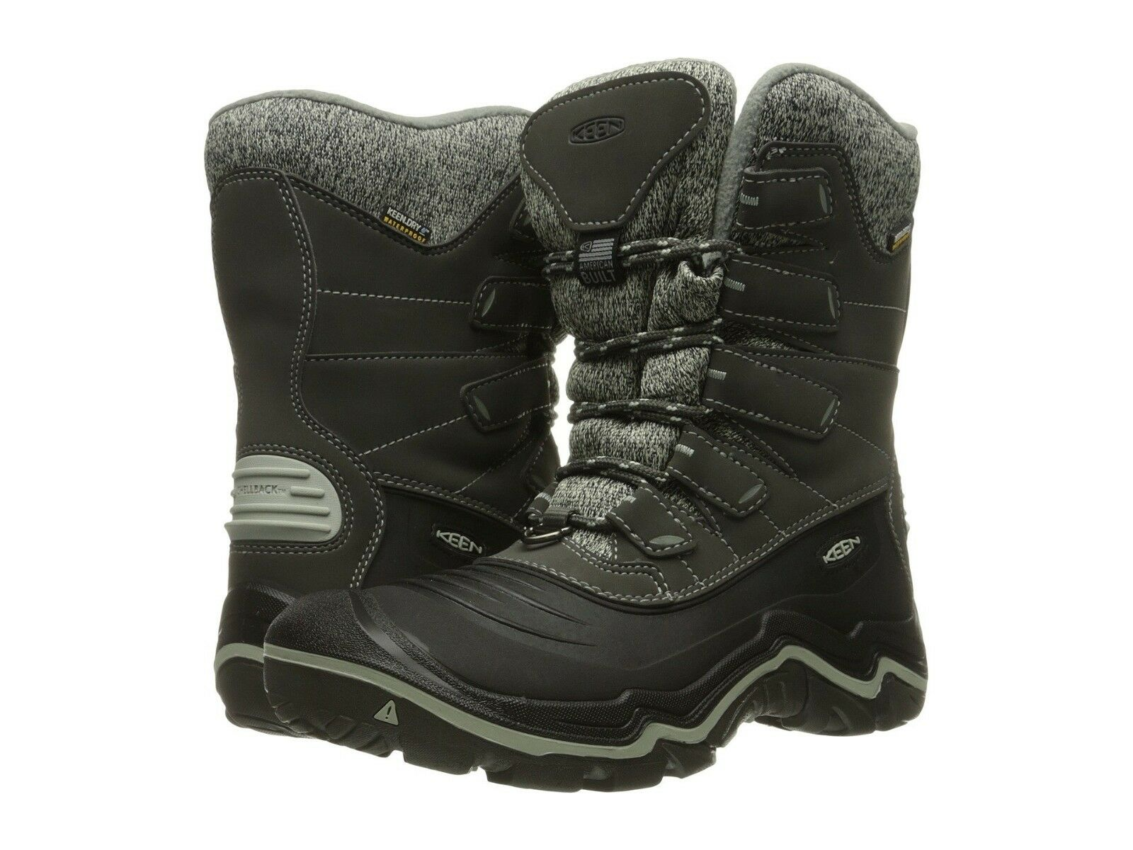 Keen Damenschuhe Durand Polar Shell Snow Lace Up Waterproof Winter Snow Shell Cold Weather Stiefel f7188c
