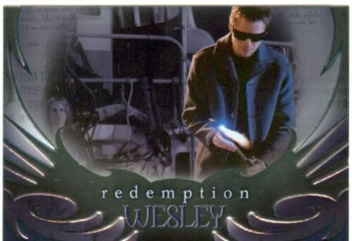 Angel Season 4 Redemption Chase Card R1