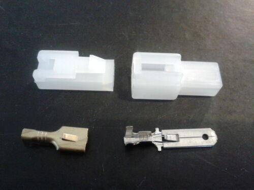 6.3 mm 1 manera Eléctrico Multi enchufe Conector Terminal Block