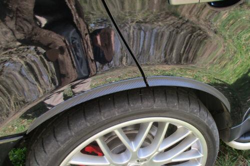 2x CARBON opt RUOTA largamento 71cm per Chevrolet Corvette CERCHI PARAFANGO