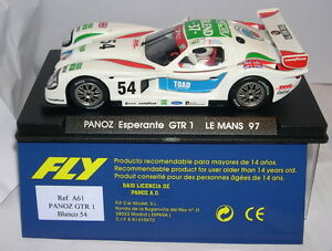 FLY A61 PANOZ ESPERANTE GTR 1 #54 LE MANS 1997 WHITE MB