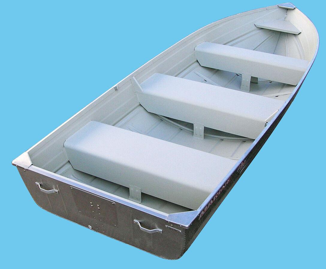 NEW Aluminium Heavy Duty 14 m 14' V Hull Boat Sports Fishing Dinghy Rowing 14m
