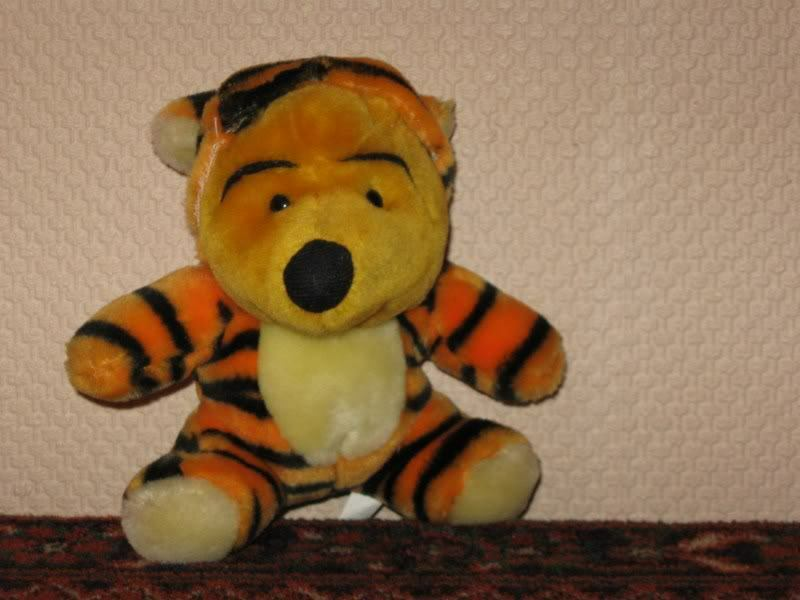Europa Nalle Puh som Tiger Changable Plush Bear