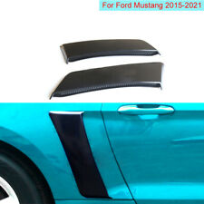 Side Rear Fenders Door Scoop Air Outlet Trim Fit For 2015 2020 Ford Mustang Fits Mustang