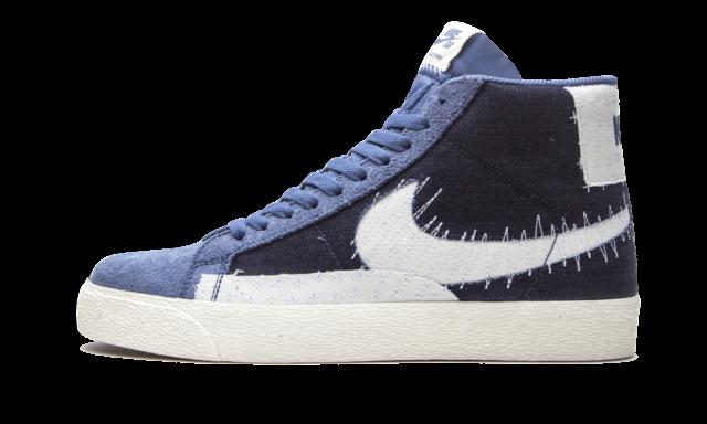 Size 11 - Nike SB Zoom Blazer Mid Sashiko Blue for sale online | eBay