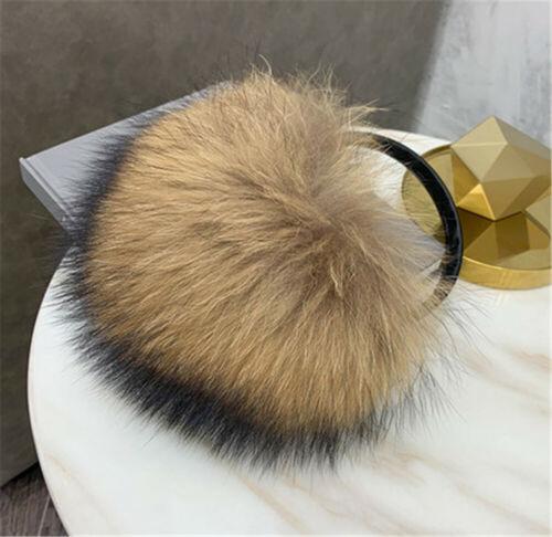 New Style Women Real Fox Fur Winter Warm Earmuffs Ear Protection Soft Plush Ear