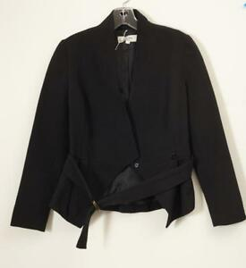 Lover Black Giacca Coat Womens Blazer classica Long Sleeve Nuovo Quilted S rUr5wq