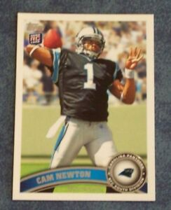 Details About 2011 Topps Cam Newton Rookie Card 200