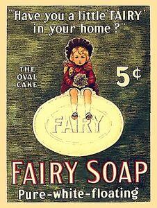 Fairy-Seife-Have-You-ein-Kleiner-IN-Ihrem-Stahl-Zeichen-300mm-x-230mm-Ogu