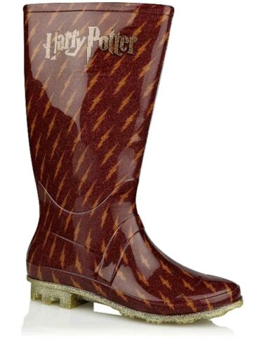 Harry Potter Shimmery Wellington For Girls From George