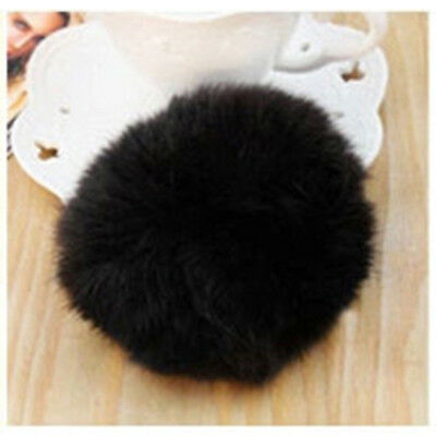 Drop shipping 1pcs 2015 Korea Imitate Hair band Rabbit Fur Plush Hair Rope