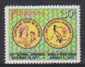 Filippine-1977-Nazionale-Scout-Jamboree-francobollo-Gomma-integra-non-linguellato-SG-1449